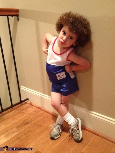 Richard Simmons Sweatin' to the Oldies Homemade Costume