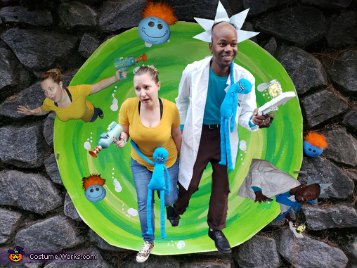 Rick and Morty Costume