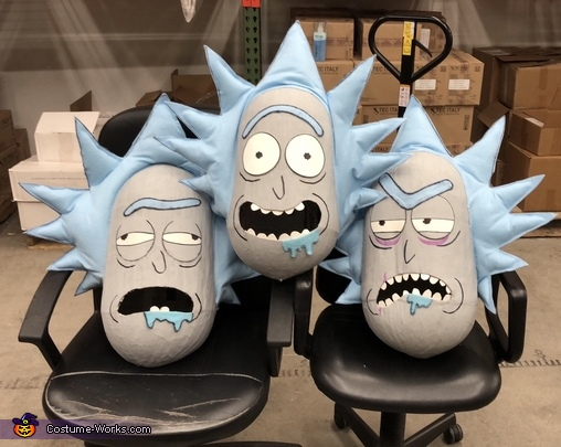 Rick and Morty Homemade Costume
