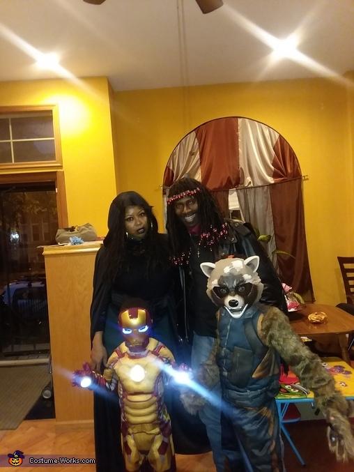 Rick James and Family, Rick James Costume