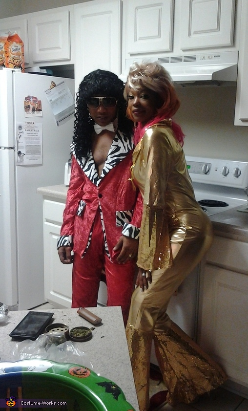 Rick James & Tina Marie Costume