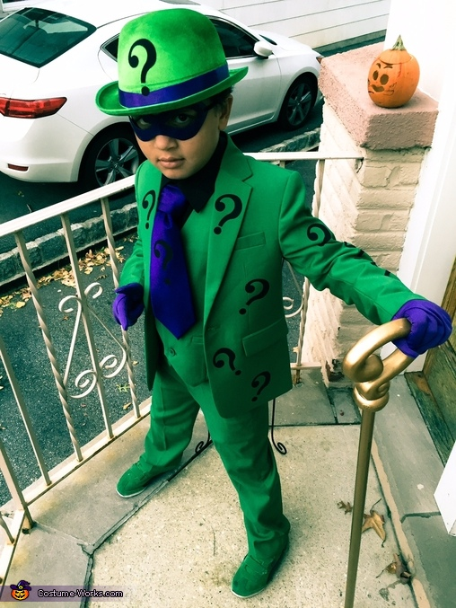 Riddle me this!, Riddler Costume