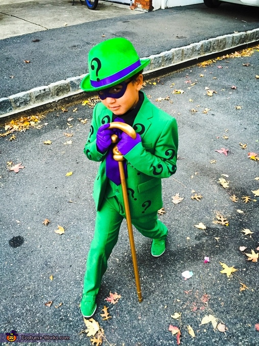 Coolest Riddler ever!, Riddler Costume