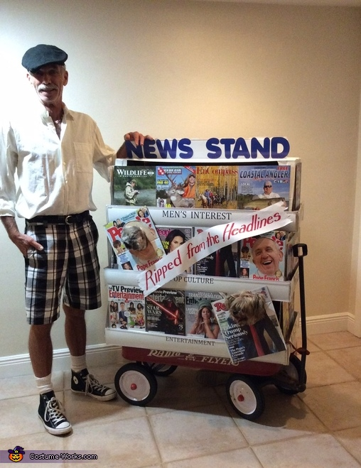 Ripped from the Headlines Homemade Costume