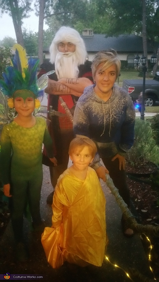 Rise of the Guardians Costume