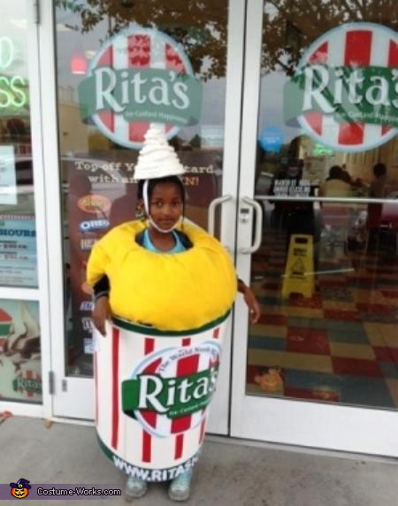 Rita's Food Costumes