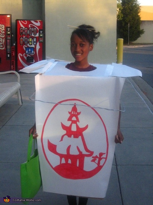 Chinese Take-out, Rita's Food Costumes