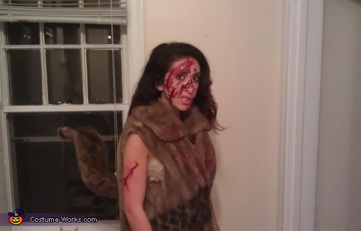 Roadkill Squirrel - Homemade costumes for women