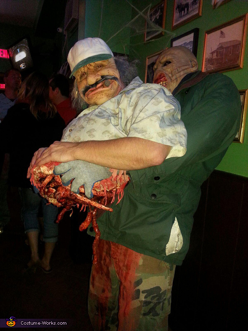 Road Kill being carried by a Ghoul Homemade Costume