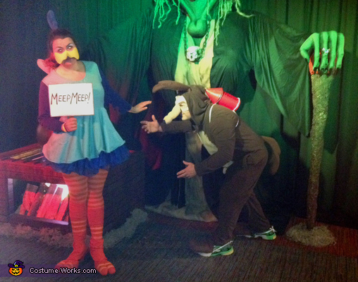 We had so much fun!, Road Runner & Wile E. Coyote Costume