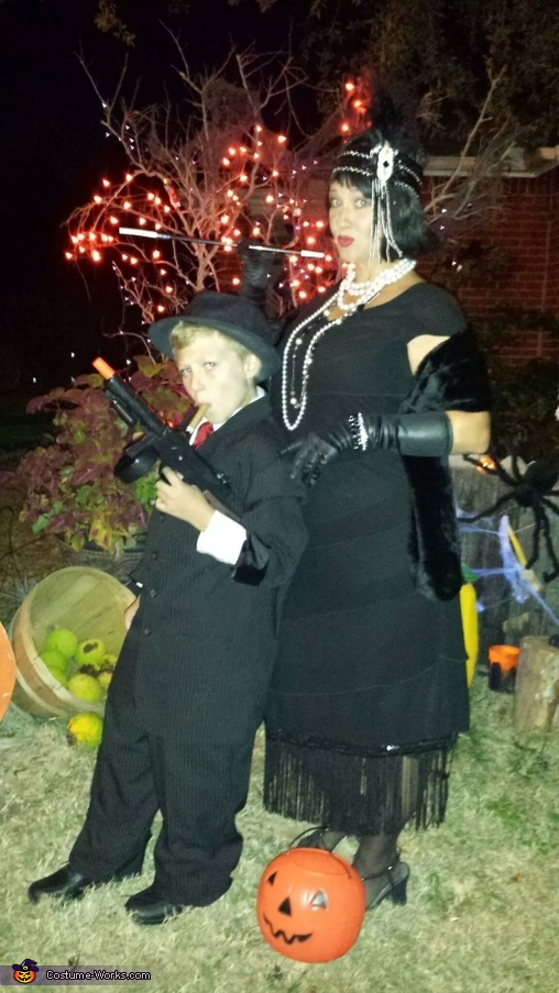 Don't mess with us!, Roaring 20's Style Costume