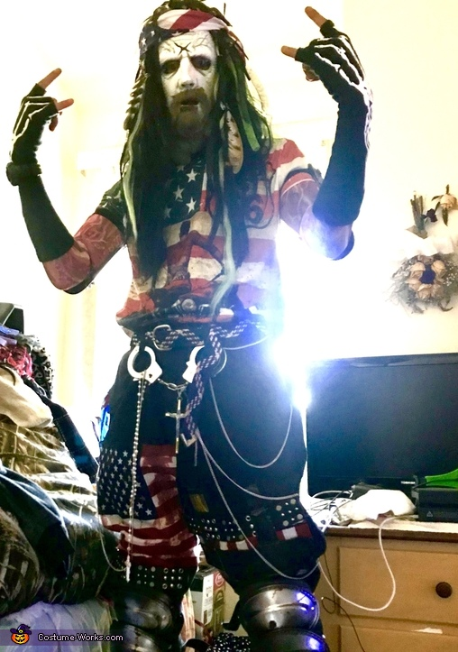 Writer, Singer, Producer, Director Rob Zombie Costume