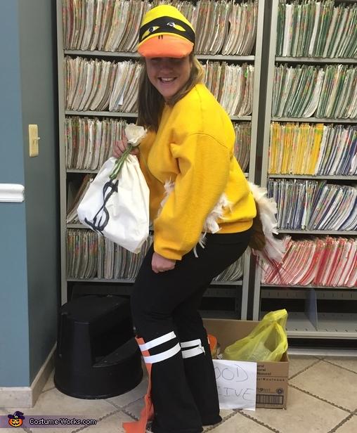 Robber Ducky Homemade Costume