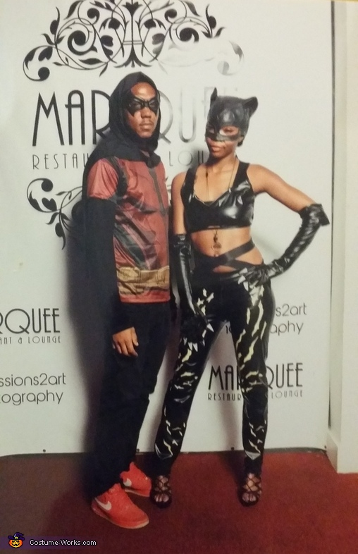 Robin And Catwoman Couple Halloween Costume