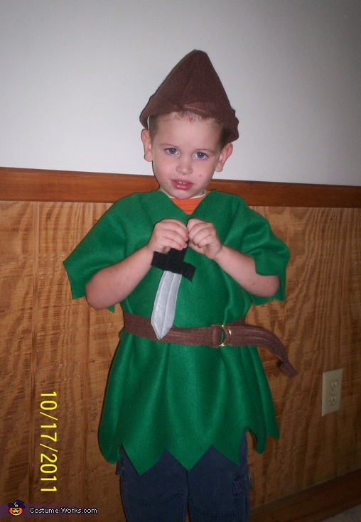 Robin Hood - Homemade costumes for boys