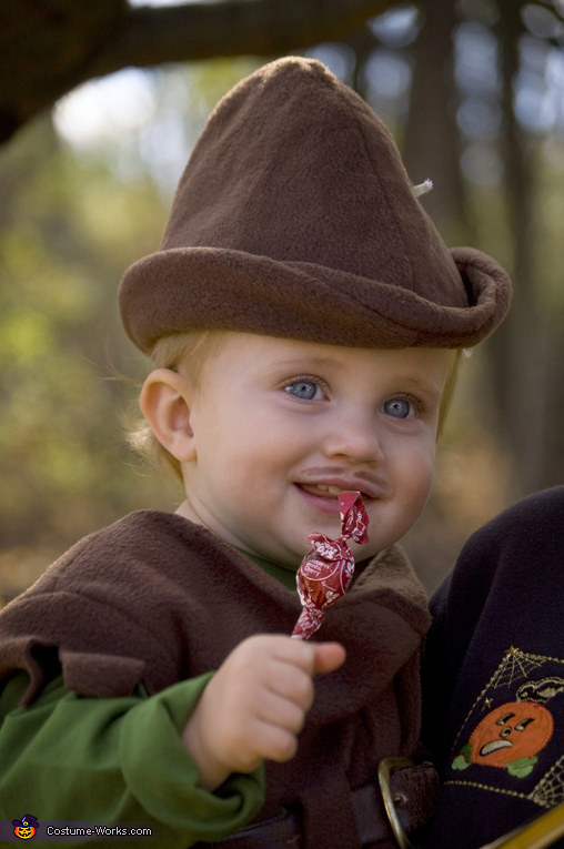 Homemade Robin Hood Costume