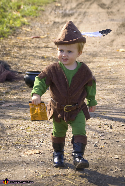 Homemade Robin Hood Costume