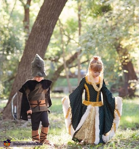 Robin Hood and Maid Marian Costume