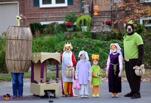 Robin Hood Family Costume