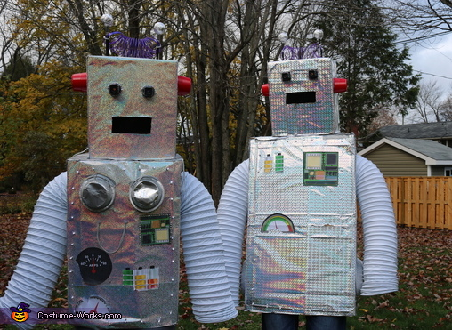 Robo-Lovers Couple Homemade Costume
