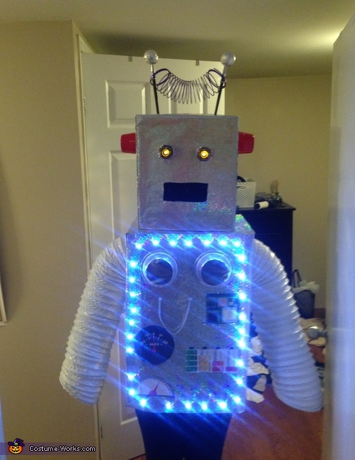 Robo-Lovers Couple Homemade Costume