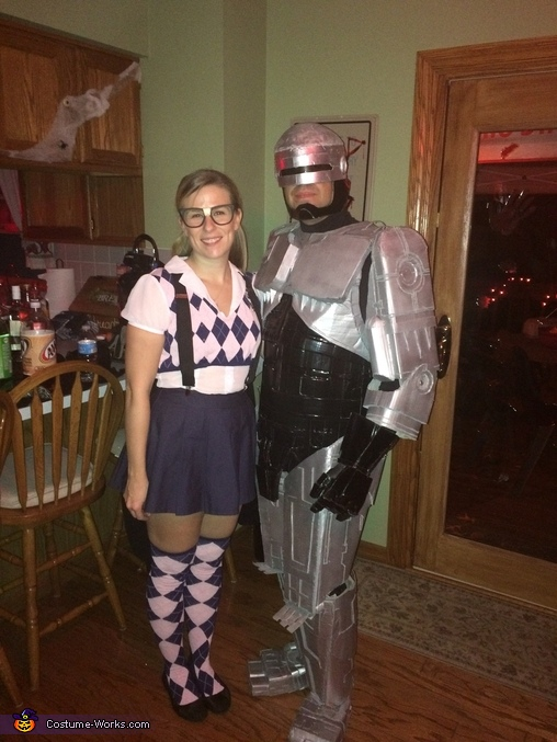 Winning costume, Robocop Costume