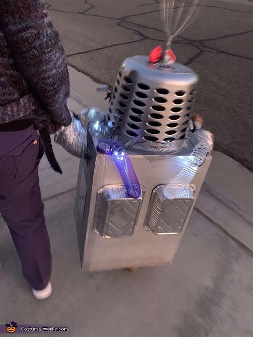 Robot-Mila Homemade Costume