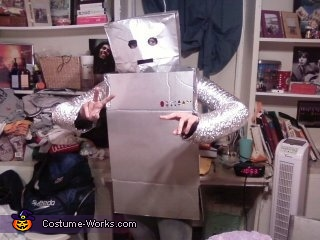hell-o-i-am-ro-bot, Homemade Robot Costumes