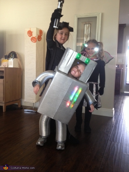 Robot Costume for a Boy