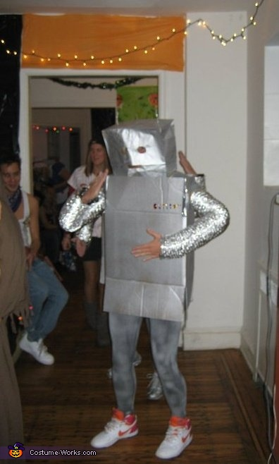 Homemade Robot Costumes