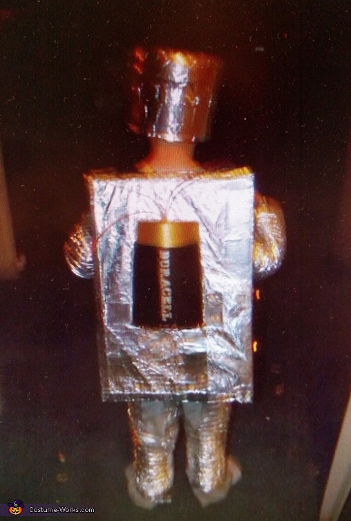 Homemade Robot Costume for Boys