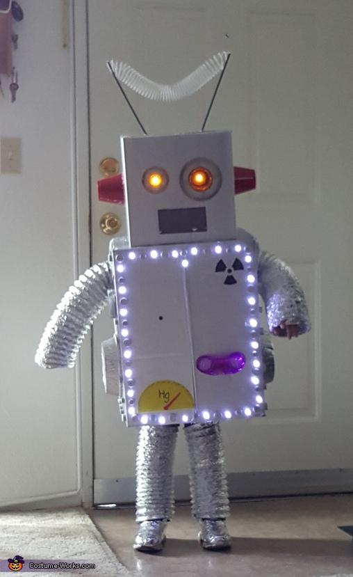 Robot Brody Costume