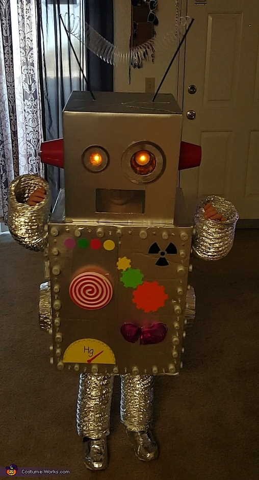 Finished , Robot Brody Costume