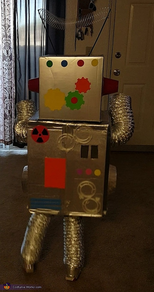 Finished, Robot Brody Costume