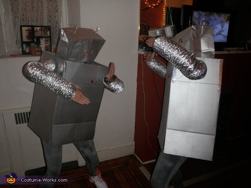 costume Adult robot