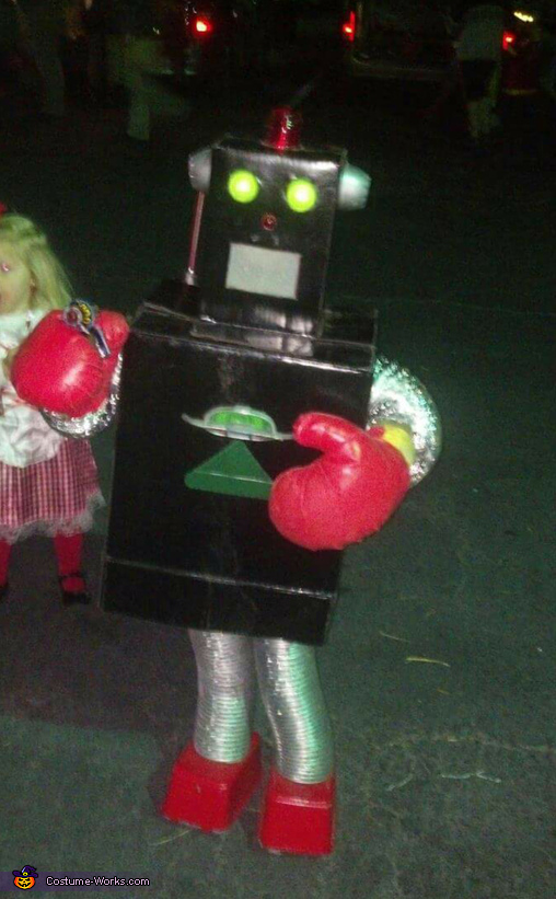 3-RBOT Costume (Reduce, ReUse, Recycle)