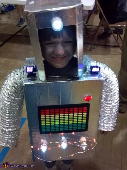 DIY Robot Boy Costume