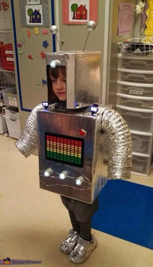 Robot Boy Costume