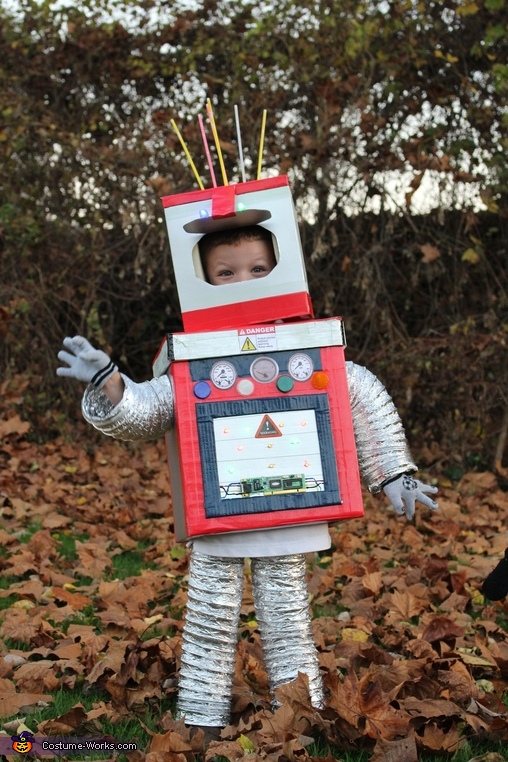 Robot, Robot Boys and Tiger Mom Costume