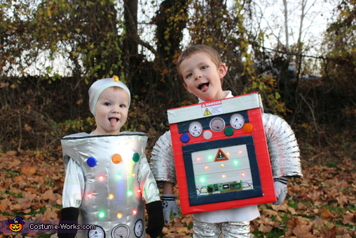Robots, Robot Boys and Tiger Mom Costume