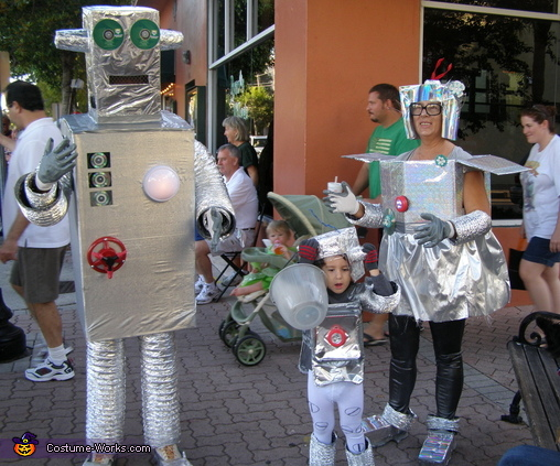 Robot Family Costume