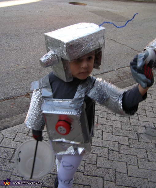 Robot Family Homemade Costume