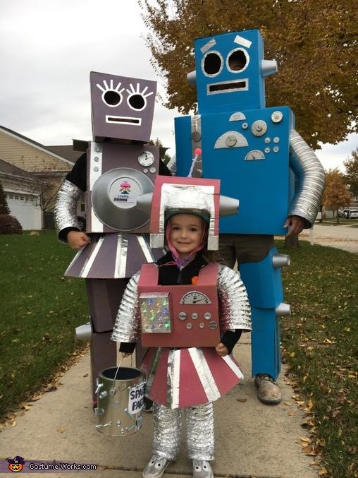 Robot Family Costume