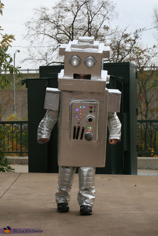 Robot Lincoln - Homemade costumes for boys