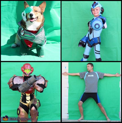 Robot Mega Man X Homemade Costume