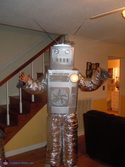 Complete Male Costume, Robots Couple's Costume