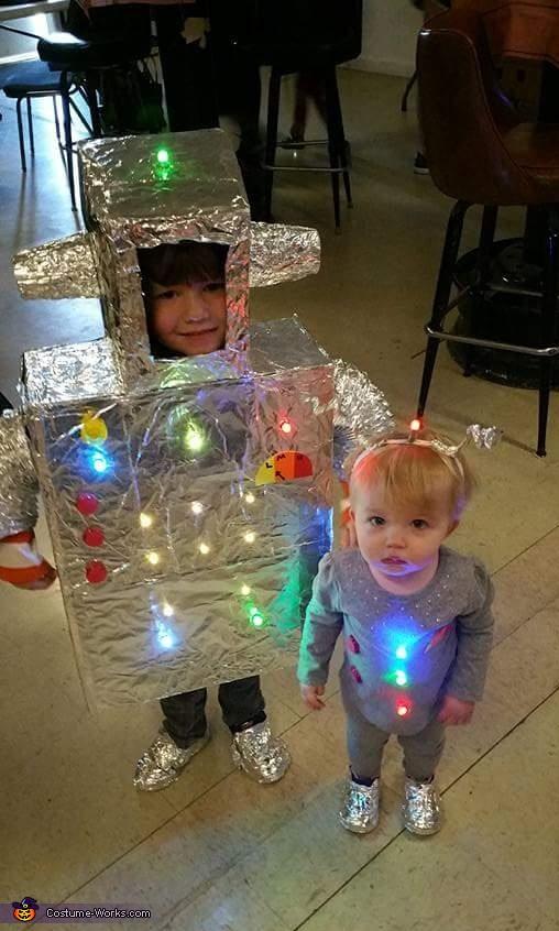 Robots Family Costume