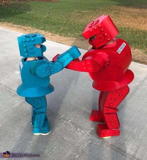 Rock 'Em Sock 'Em Robots Costume