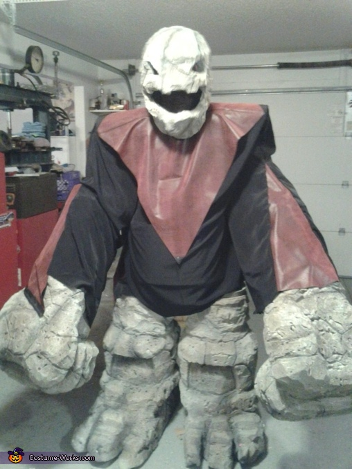 Rock Monster Homemade Costume