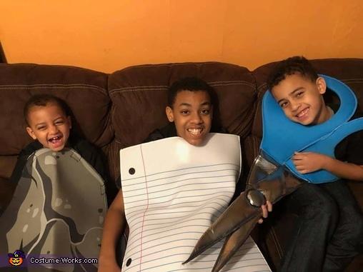 Rock Paper Scissors Costume